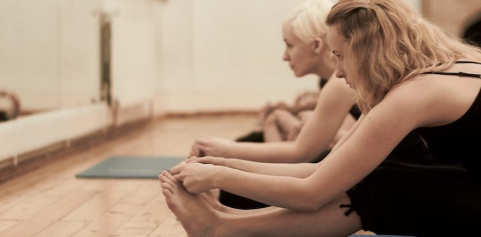 Yoga for Back Pain forward bend image
