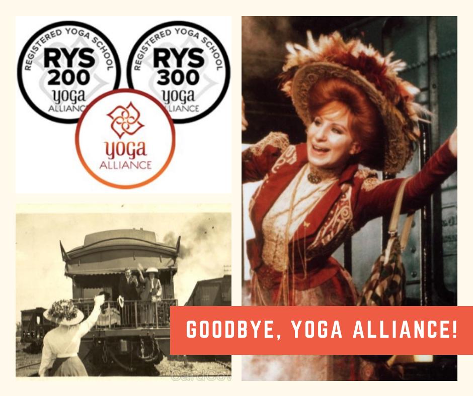 Goodbye, Yoga Alliance!