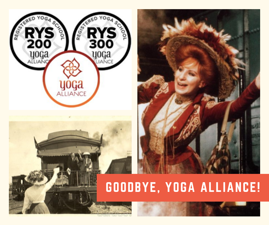 Goodbye, Yoga Alliance!
