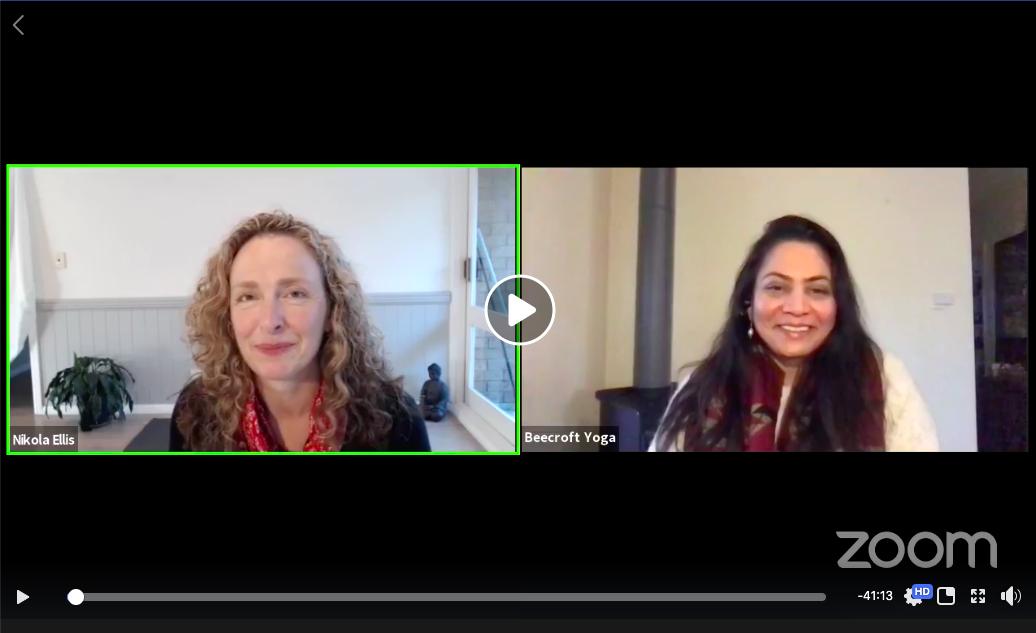 Nikola Ellis and Sunita Patil discuss Ayurveda in Yoga Therapy