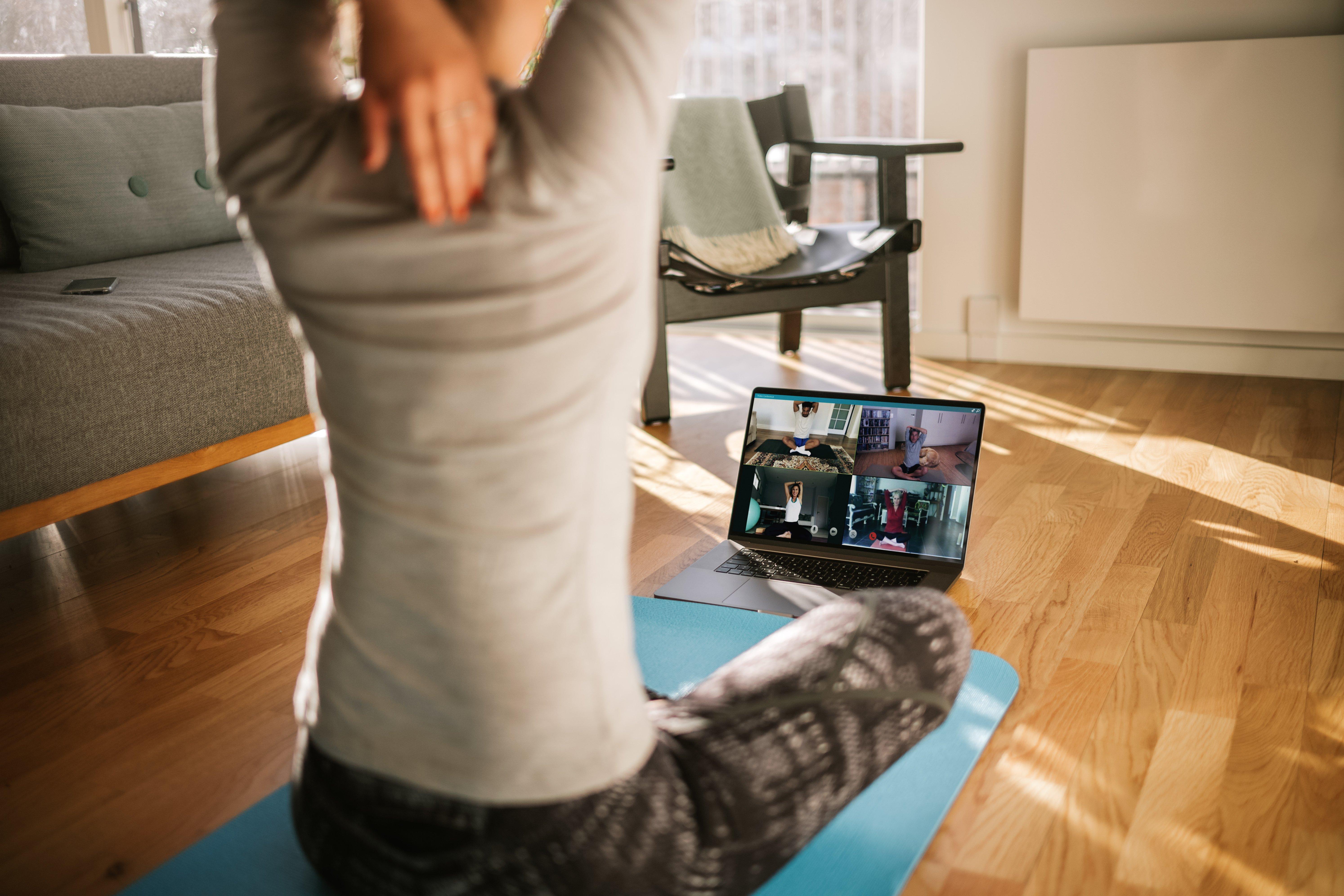 Teaching online yoga