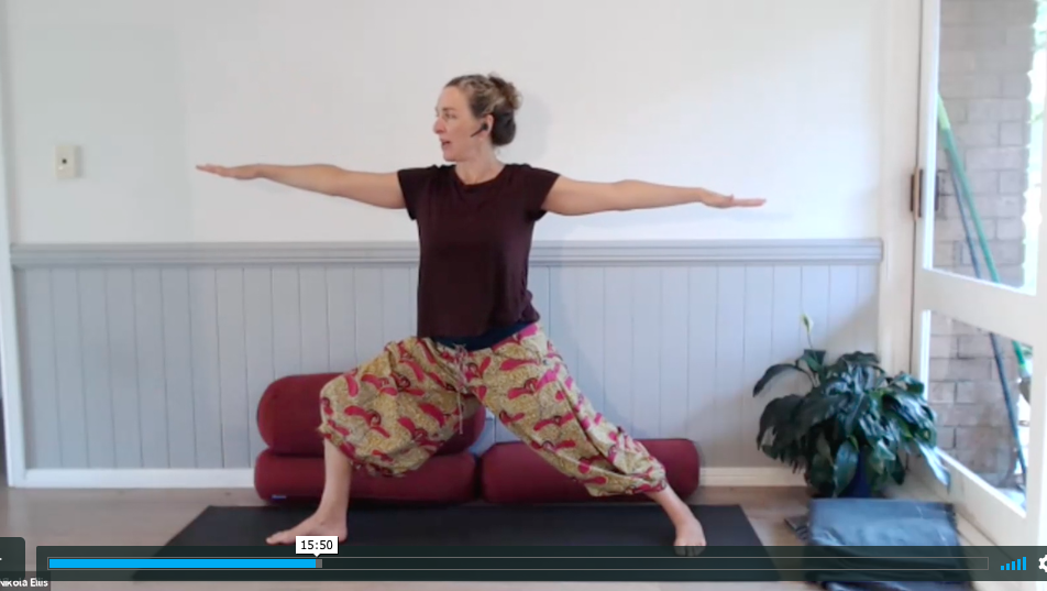 Videos guides to teaching yoga online