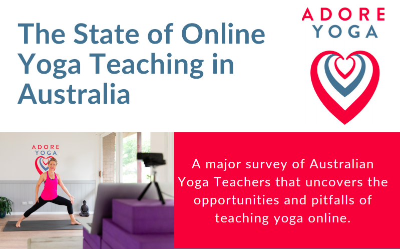 Curious to know how Aussie yoga teachers are succeeding online? Our survey results are in!